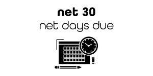 Net 30 Days Due